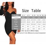 Sexy Black Dress, Cosics Women's Party Club Dress Long Sleeve, Bodycon Ruched Dresses for women, Wedding Clubwear