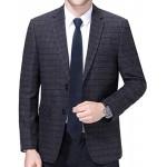 Zip Necktie Men, Cosics Zipper Tie, Navy Blue Formal Classic Adjustable Business Neck Tie with Box for Man